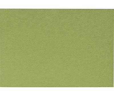 LUX A7 Flat Card (5 1/8 x 7) 250/Pack, Avocado (EX4040-27-250)
