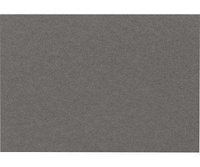 LUX A9 Flat Card (5 1/2 x 8 1/2) 250/Pack, Smoke (EX4060-22-250)