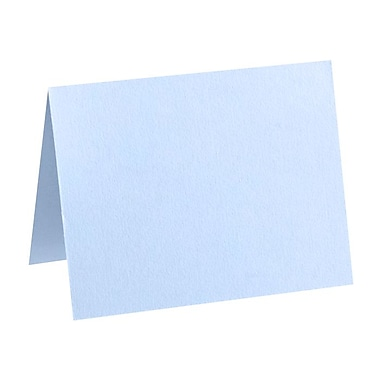 LUX A6 Folded Card (4 5/8 x 6 1/4) 50/Pack, Baby Blue (EX5030-13-50)