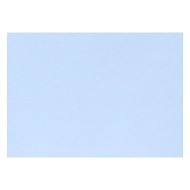 LUX A9 Flat Card (5 1/2 x 8 1/2) 50/Pack, Baby Blue (EX4060-13-50)