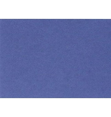 LUX A9 Flat Card (5 1/2 x 8 1/2) 50/Pack, Boardwalk Blue (EX4060-23-50)