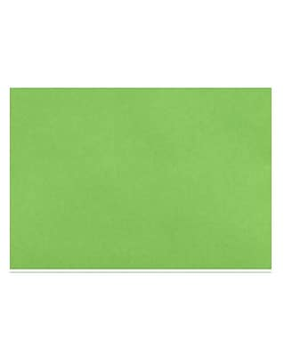 LUX A6 Flat Card (4 5/8 x 6 1/4) 50/Pack, Limelight (4030-101-50)