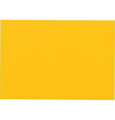LUX A9 Flat Card (5 1/2 x 8 1/2) 1000/Pack, Sunflower (EX4060-12-1000)