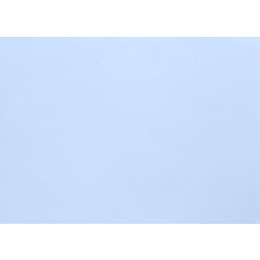LUX A1 Flat Card (3 1/2 x 4 7/8) 50/Pack, Baby Blue (EX4010-13-50)