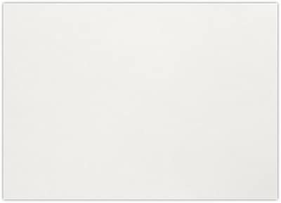 LUX A1 Flat Card (3 1/2 x 4 7/8) 50/Pack, Natural White - 100% Cotton (4010-SN-50)