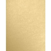 LUX 8 1/2 x 11 Paper 50/Pack, Blonde Metallic (FA5030-05-50)