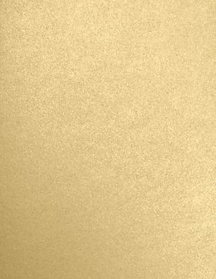 LUX 8 1/2 x 11 Paper 50/Pack, Blonde Metallic (FA5030-05-50)