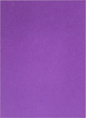 LUX 8 1/2 x 11 Cardstock 50/Pack, Purple Power (FA81211-C-06-50)