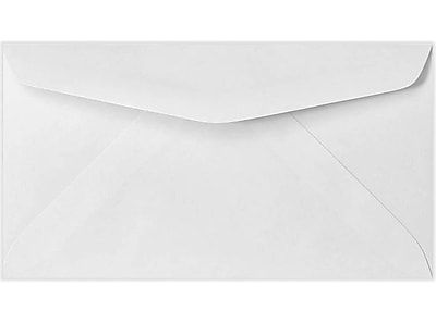 LUX #7 Regular Envelopes (3 3/4 x 6 3/4) 250/Pack, 24lb. Bright White (43430-250)