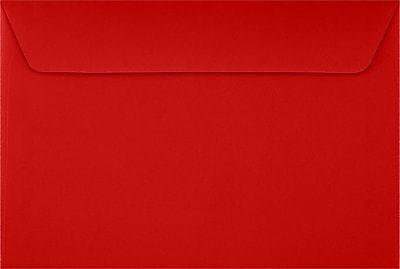 LUX 6 x 9 Booklet Envelopes 1000/Pack, Ruby Red (EX4820-18-1000)