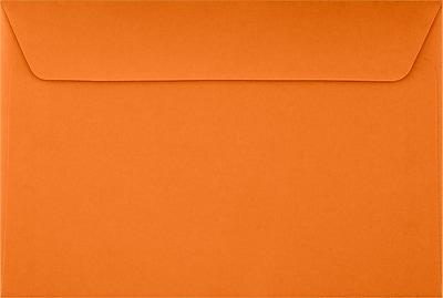 LUX 6 x 9 Booklet Envelopes 500/Pack, Mandarin (EX4820-11-500)