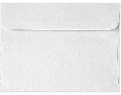 LUX 5 1/2 x 7 1/2 Booklet Envelopes 50/Pack, 24lb. Bright White (11700-50)