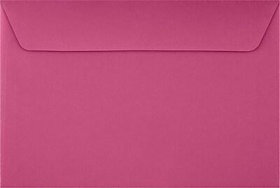 LUX 6 x 9 Booklet Envelopes 50/Pack, Magenta (EX4820-10-50)