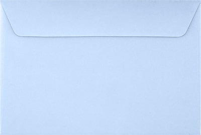 LUX 6 x 9 Booklet Envelopes 50/Pack, Baby Blue (EX4820-13-50)