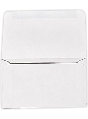 LUX 6 3/4 Remittance Envelopes (3 5/8 x 6 1/2 Closed) 500/Pack, 24lb. Bright White (17889-500)