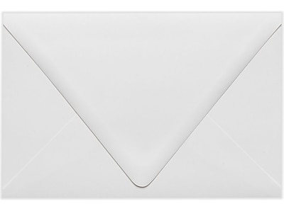 LUX 6 x 9 Booklet Contour Flap Envelopes 50/Pack, White - 100% Recycled (1820-WPC-50)