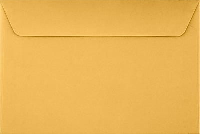 LUX 6 x 9 Booklet Envelopes 500/Pack, 24lb. Brown Kraft (26949-500)