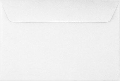 LUX 6 x 9 Booklet Envelopes 50/Pack, 24lb. Bright White (11874-50)