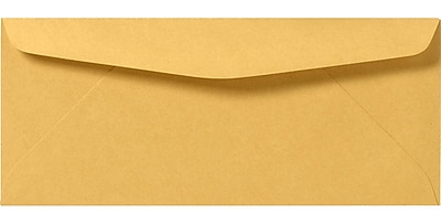 LUX #11 Regular Envelopes (4 1/2 x 10 3/8) 500/Pack, 24lb. Brown Kraft (66464-500)