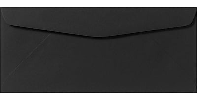 LUX #9 Regular Envelopes (3 7/8 x 8 7/8) 500/Pack, Midnight Black (F-4550-B-500)