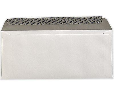 LUX #10 Regular Envelopes (4 1/8 x 9 1/2) 500/Pack, White w/ Peel & Seel® (75746-500)