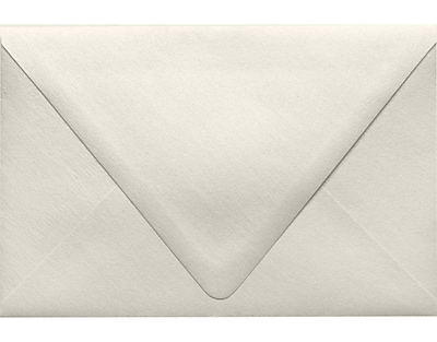 LUX 6 x 9 Booklet Contour Flap Envelopes 50/Pack, Quartz Metallic (1820-08-50)