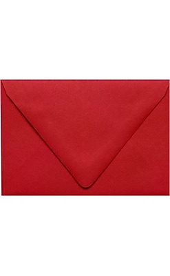 LUX 6 x 9 Booklet Contour Flap Envelopes 50/Pack, Ruby Red (EX-1820-18-50)