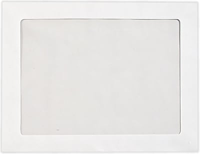 LUX 8 3/4 x 11 1/2 Full Face Window Envelopes 50/Pack, 28lb. Bright White (FFW-83411-50)