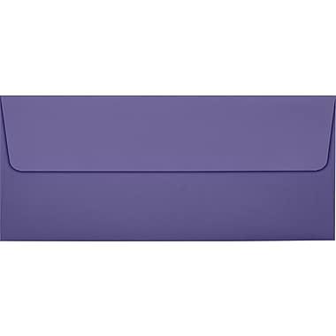 LUX #10 Square Flap Invitation Envelopes (4 1/8 x 9 1/2) 50/Pack, Wisteria (LUX-4860-106-50)