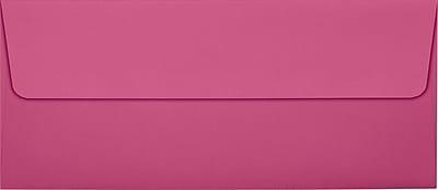 LUX #10 Square Flap Envelopes (4 1/8 x 9 1/2) 50/Pack, Magenta (EX4860-10-50)