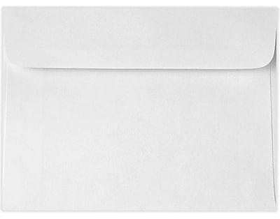 LUX 5 3/4 x 8 7/8 Booklet Envelopes 50/Pack, 24lb. Bright White (11858-50)