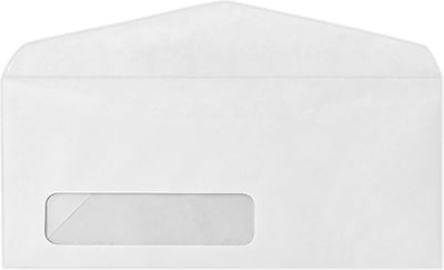 LUX #11 Window Envelopes (4 1/2 x 10 3/8) 250/Pack, 24lb. Bright White (43675-250)