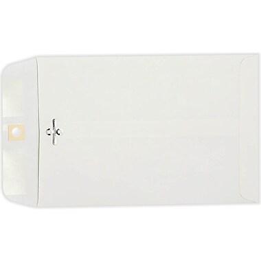 LUX 6 x 9 Clasp Envelopes 1000/Pack, 28lb. Bright White (1602-1000)