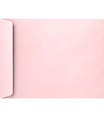 LUX 9 x 12 Open End Envelopes 50/Pack, Candy Pink (EX4894-14-50)