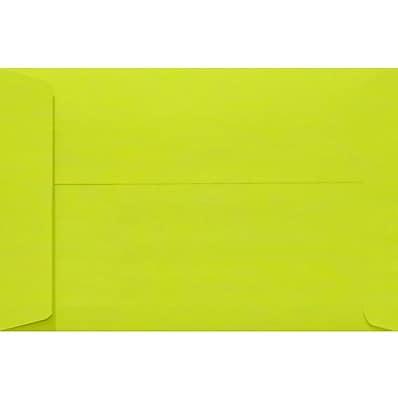 LUX 9 x 12 Open End Envelopes 250/Pack, Wasabi (LUX4894L22250)