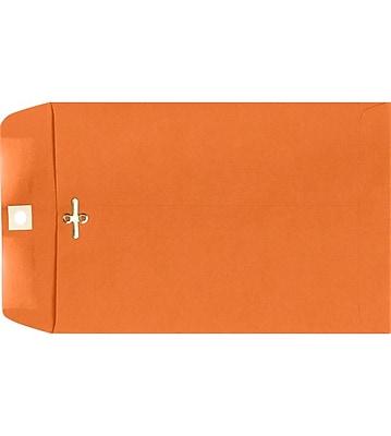 LUX 9 x 12 Clasp Envelopes 500/Pack, Mandarin (92938-500)
