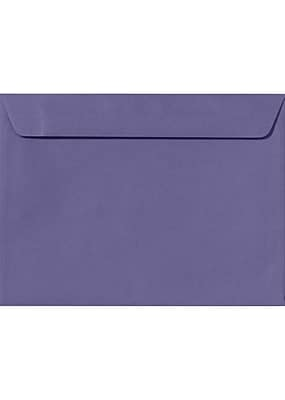 LUX 9 x 12 Booklet Envelopes 50/Pack, Wisteria (LUX-4899-106-50)