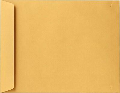 LUX 11 1/2 x 14 1/2 Open End Envelopes 500/Pack, 28lb. Brown Kraft (318-500)