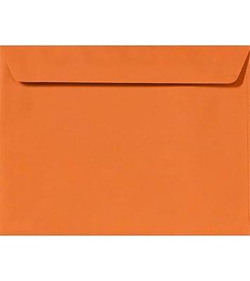 LUX 9 x 12 Booklet Envelopes 50/Pack, Mandarin (EX4899-11-50)