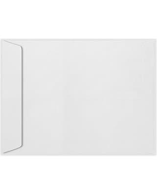 LUX 8 1/2 x 10 1/2 Open End Envelopes 50/Pack, 70lb. Bright White (4892-W-50)
