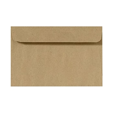 LUX 9 x 12 Booklet Envelopes 50/Pack, Grocery Bag (4995-GB-50)