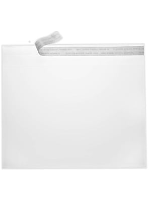 LUX 9 x 12 Booklet Envelopes 50/Pack, Crystal Clear (CC9X12-50)