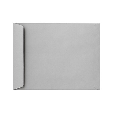 LUX 8 3/4 x 11 1/4 Open End Envelopes 50/Pack, 28lb. Gray Kraft (7450-GK-50)