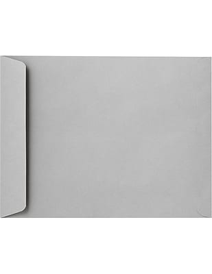 LUX 8 3/4 x 11 1/4 Open End Envelopes 500/Pack, 28lb. Gray Kraft (7450-GK-500)
