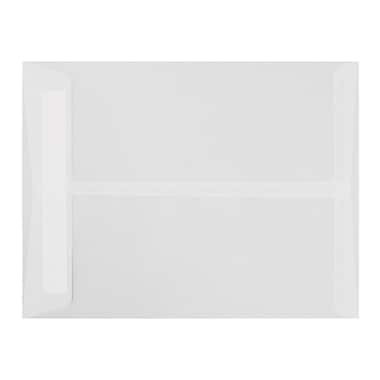 LUX 9 x 12 Open End Envelopes 50/Pack, Clear Translucent (E4894-00-50)