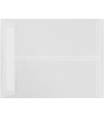LUX 9 x 12 Open End Envelopes 50/Pack, Clear Translucent (E4894-00-50)