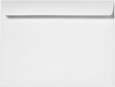LUX 9 x 12 Booklet Envelopes 50/Pack, 28lb. Bright White (12328-50)