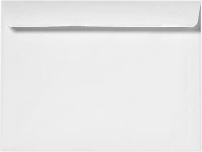 LUX 9 x 12 Booklet Envelopes 50/Pack, 24lb. Bright White (12310-50)