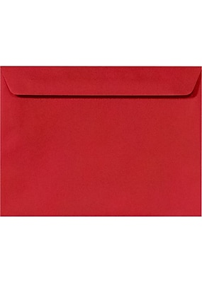 LUX 9 x 12 Booklet Envelopes 50/Pack, Ruby Red (EX4899-18-50)
