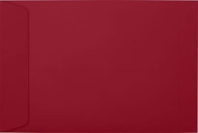 LUX 6 x 9 Open End Envelopes 500/Pack, Garnet (EX1644-26-500)